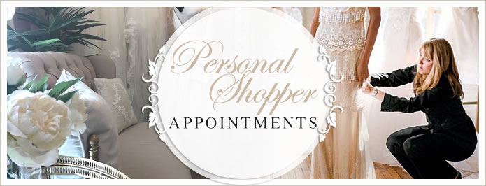 book your personal shopper appointment