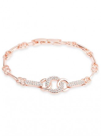 B19032 Rose Gold Coated Bracelet (Accessories By Park Lane)