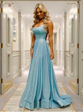 AF20401 - Powder Blue / Rose Dress (Angel Forever)