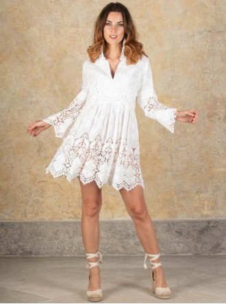 J1002 - Ivory Dress (Antica Sartoria)