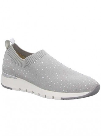 9-24702-24 - Lt Grey Knit Shoes (Caprice)