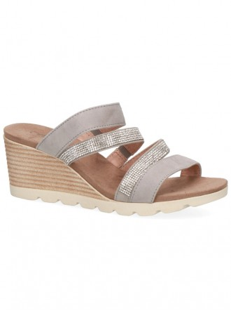 Sparkly Sandals - Grey (Caprice)