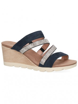 Sparkly Sandals - Navy (Caprice)