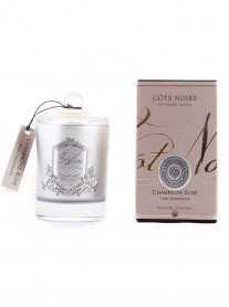 543911 - Champagne Rose Soy Blend Candle 185g (Cote Noire)