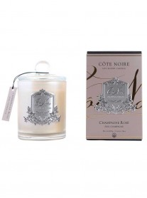 543911 - Champagne Rose Soy Blend Candle 450g (Cote Noire)