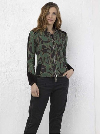 EJW197041501 - Green/Black Jacket (Elisa Cavalleti)