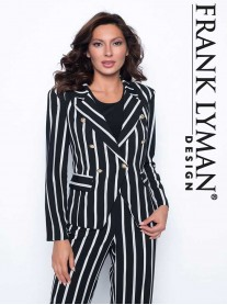 186796 Jacket - Black/White/Grey (Frank Lyman)