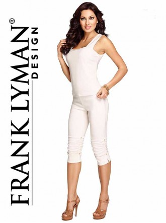 054 Top Cami - Off white (Frank Lyman)
