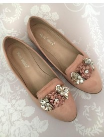 H05 - Pink Flower Shoes