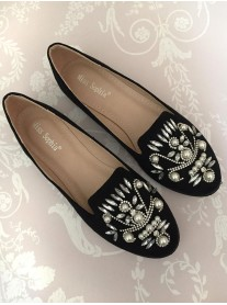 H08 - Black Pearl Shoes