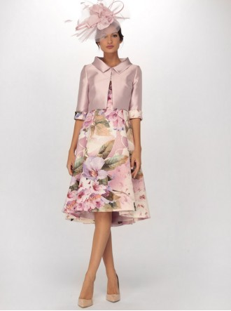 6913 - Dusky Pink Dress & Jacket (Gabriela Sanchez)