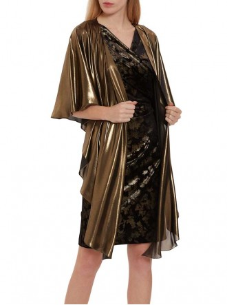 2749 - Black & Gold Wrap (Gina Bacconi)