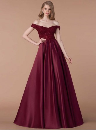 6218M - Burgundy Dress (Gino Cerruti)