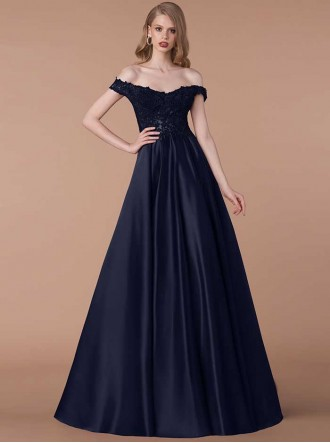 6218M - Navy Blue Dress (Gino Cerruti)