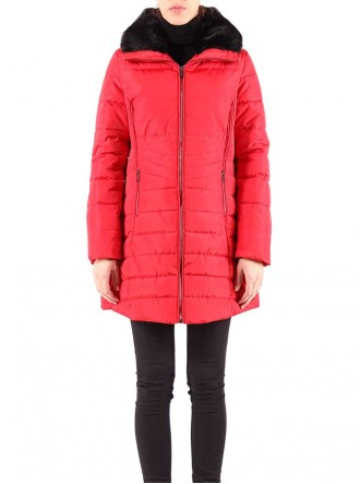 Golda Coat - Red (Rino & Pelle)