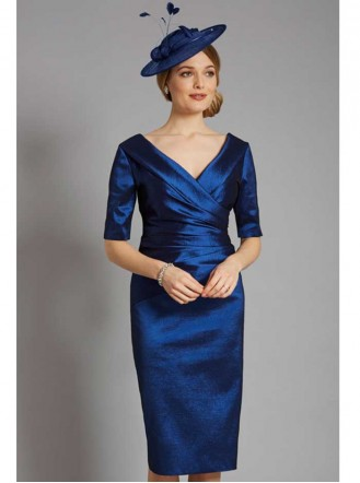 ISD821 - Midnight Blue/Morello/Plush Pink/Soft Hazelnut Dress (Ispirato)