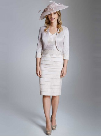 ISE934 - Dress/Jacket Ecru/Misty Pearl (Ispirato)
