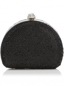 Izzy - Black Clutch Bag