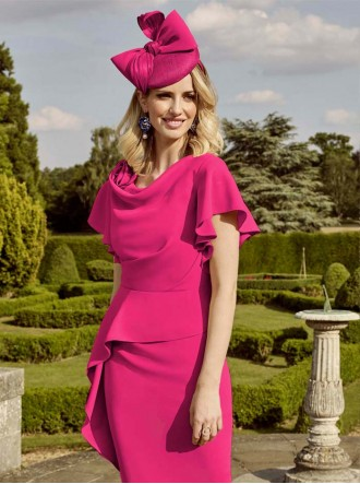 26798 - Fuchsia Dress (John Charles)
