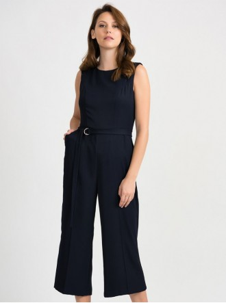 201263 - Midnight Blue Jumpsuit (Joseph Ribkoff)