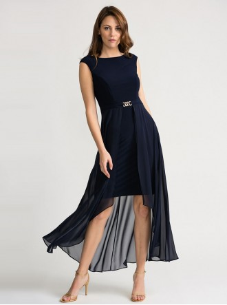 202159 - Midnight Blue Dress (Joseph Ribkoff)