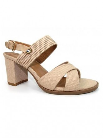 Maddy Heeled Sandals - Nude (Lunar)