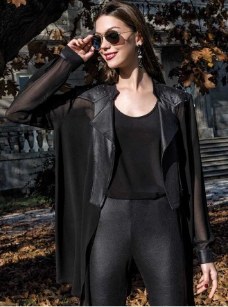 8948 - Black Jacket (Michaela Louisa)