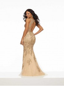 43098 - Champagne/Gold (Mori Lee)