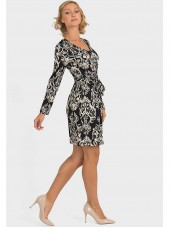 193664 - Black/Grey Dress (Joseph Ribkoff)