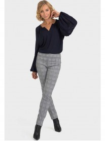 193830 - Grey Check Pants (Joseph Ribkoff)