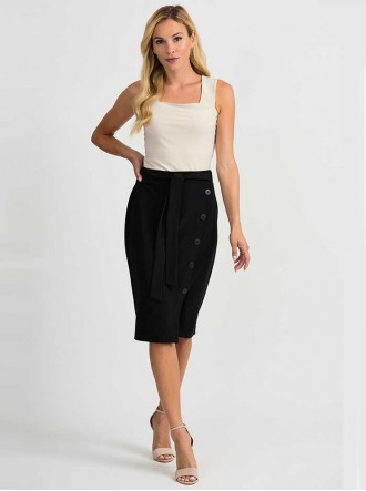 201137 - Black Skirt (Joseph Ribkoff)