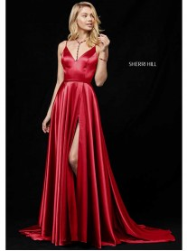 52119 - Wine/Navy (Sherri Hill)