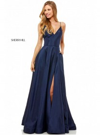 52245 - Navy (Sherri Hill)