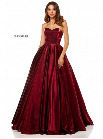 52456 - Wine (Sherri Hill)