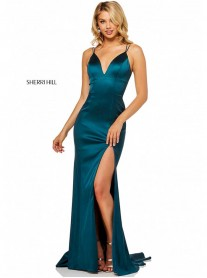 52548 - Teal (Sherri Hill)