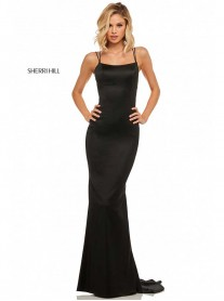 52613 - Black/Navy (Sherri Hill)