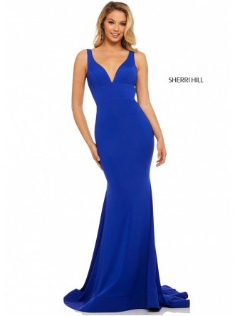 52790 - Royal Blue (Sherri Hill)