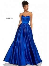 52850 - Navy (Sherri Hill)