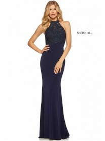 52901 - Navy (Sherri Hill)
