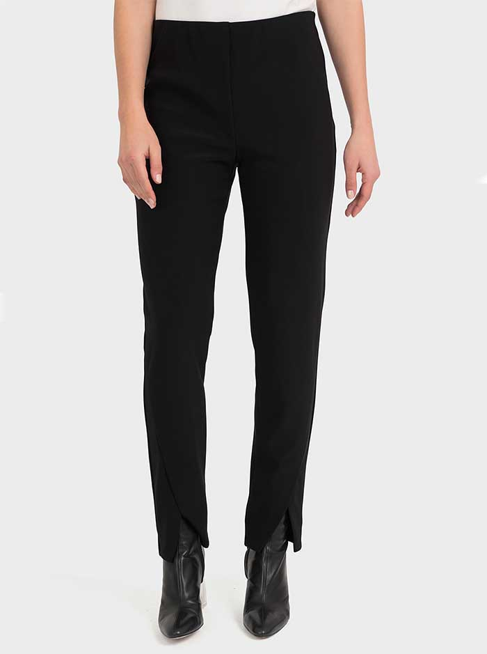 194054 - Black & Midnight Blue Pant (Joseph Ribkoff)