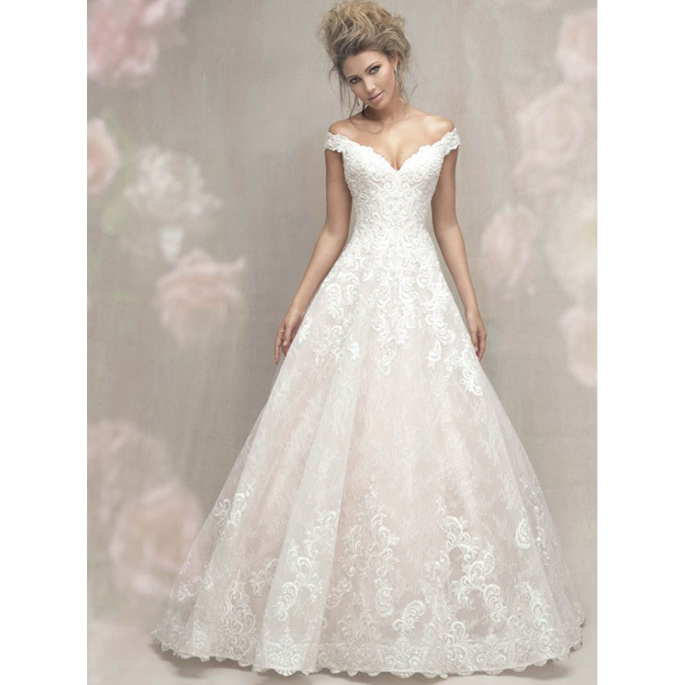 C461 Wedding Dresses Allure Couture Wedding Dress By