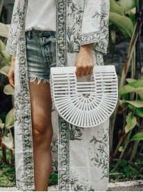 Bamboo Bag - White