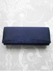 Melody Blue Clutch Bag (Lunar)