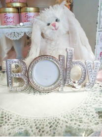 Silver Baby Photo Frame