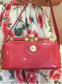 Cerise Pink Handbag - Peach Accessories