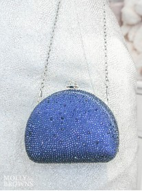 Izzy - Blue Clutch Bag