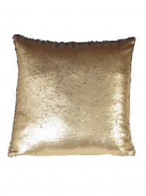 Gold Sequinned Cushion