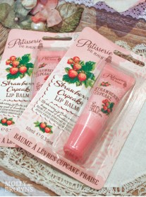 Strawberry Cupcake Lip Balm