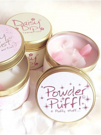 Powder Puff Scented Candle