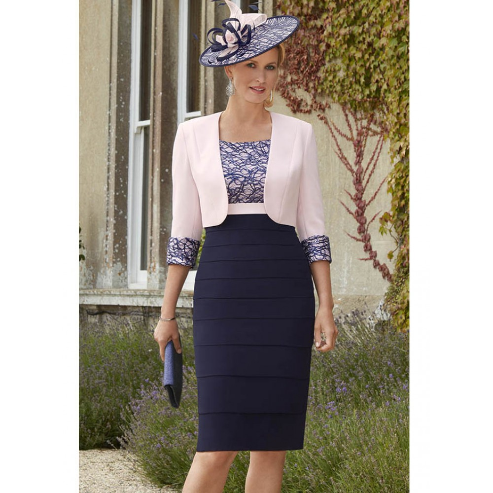 70889 Mother Of The Bride Dress & Jacket